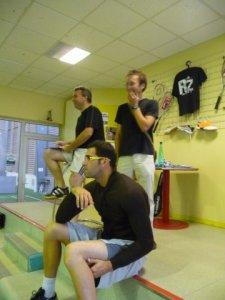 Patrick, Julien et Matrof