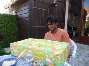 On fête l'anniversaire de Mat ...