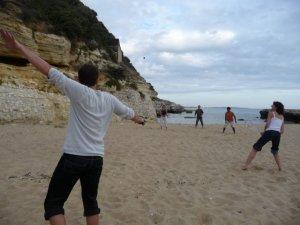 le beach squash.