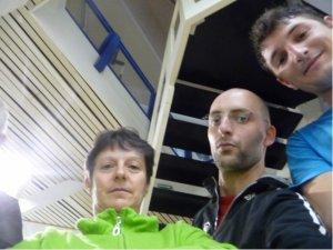 Véro, Julien et Max