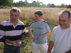 Parick, Tony et Yves