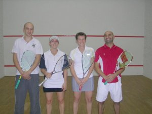 Fabien Grignet, Adeline Legeay, Céline Gire et Stephane Gallene